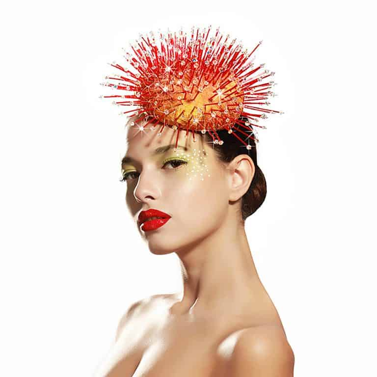 Maor Zabar Carnivorous Plant Hat Headdress for Women