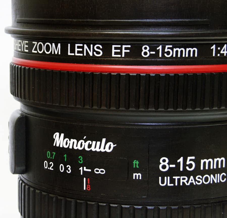Monoculo Shop Camera Lens Shaped Stool Awesome Container