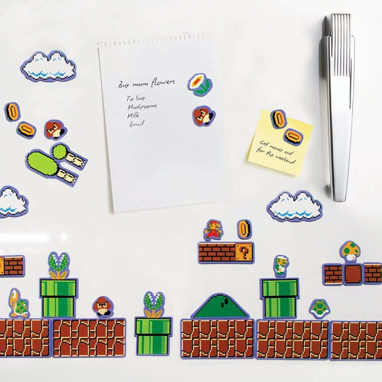 Nintendo Super Mario Brothers Magnets Cool Gift Idea