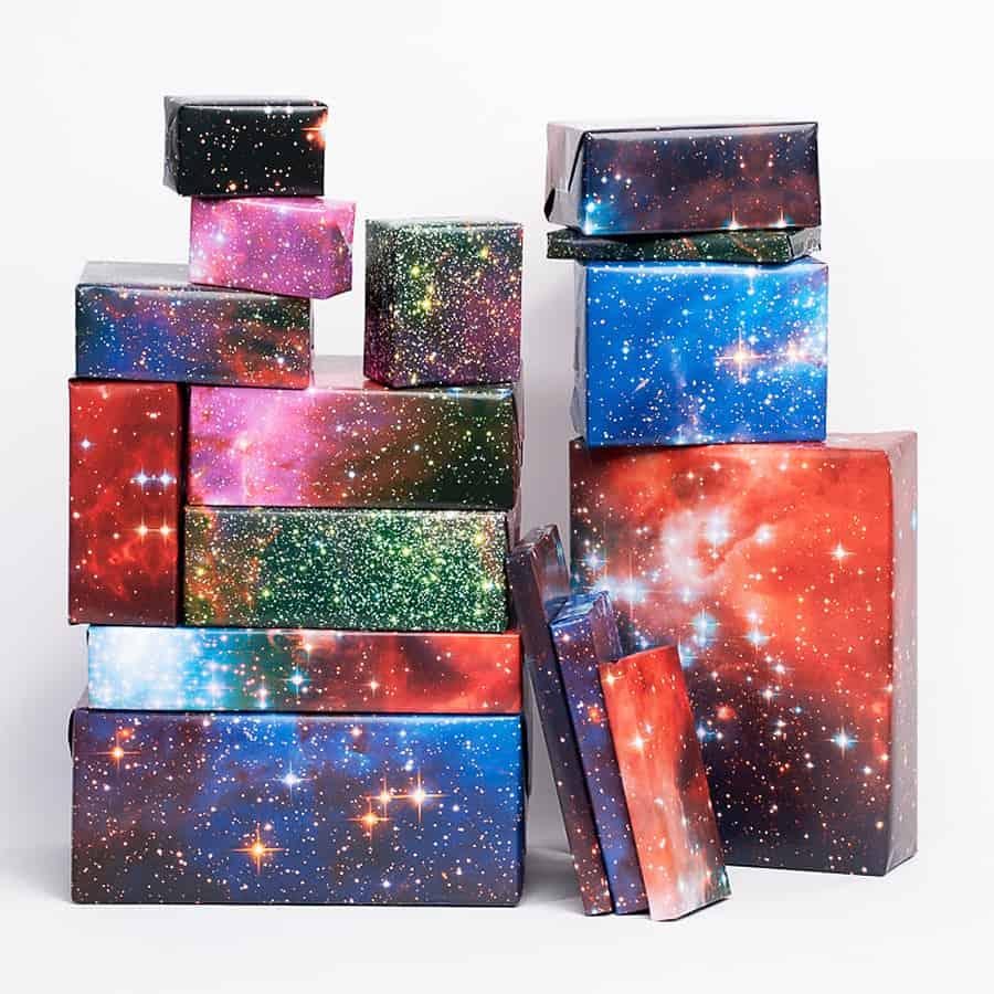 Normans printery galaxy print gift wrap noveltystreet normans printery galaxy print gift wrap negle Choice Image