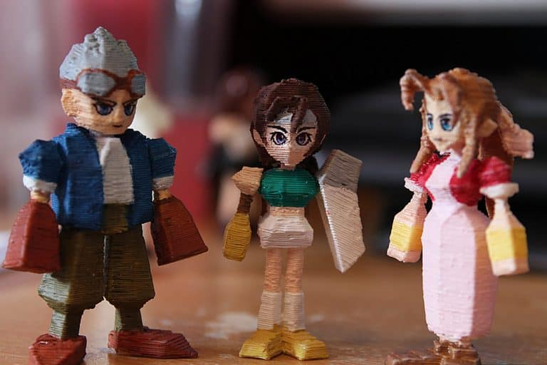 Pirate Ninjas Final Fantasy 7 3D Printed Miniatures Good for Video Game Lover