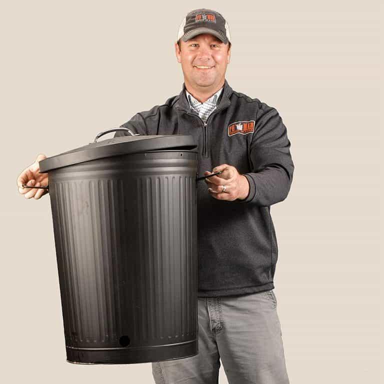Po' Man Trashcan Charcoal Grill BBQ Tool