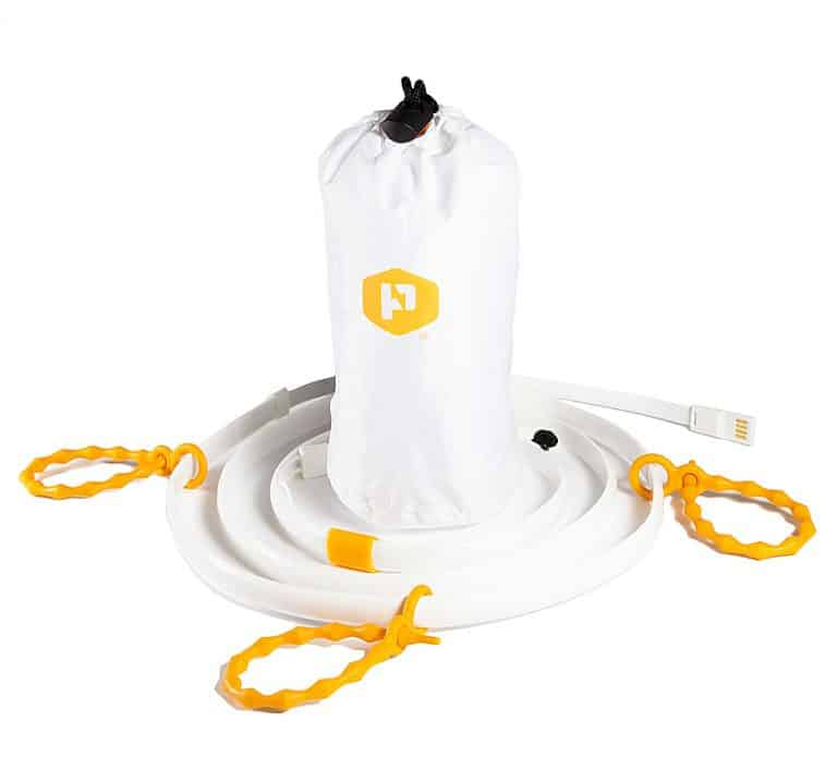 Power Practical Luminoodle Portable LED Light Rope and Lantern Camping Kit