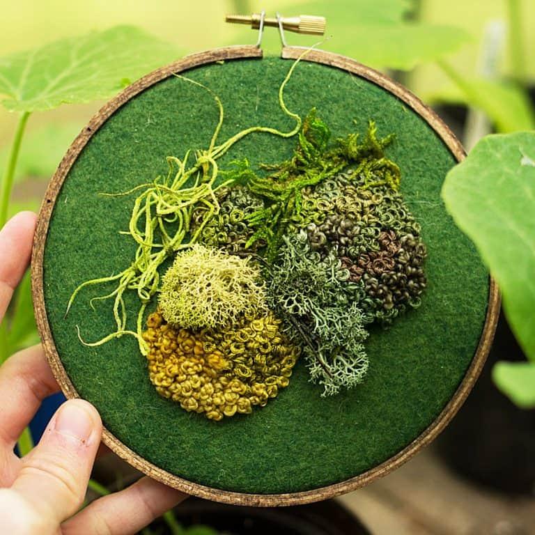 Spectremma Moss Embroidery Nice Gift Idea
