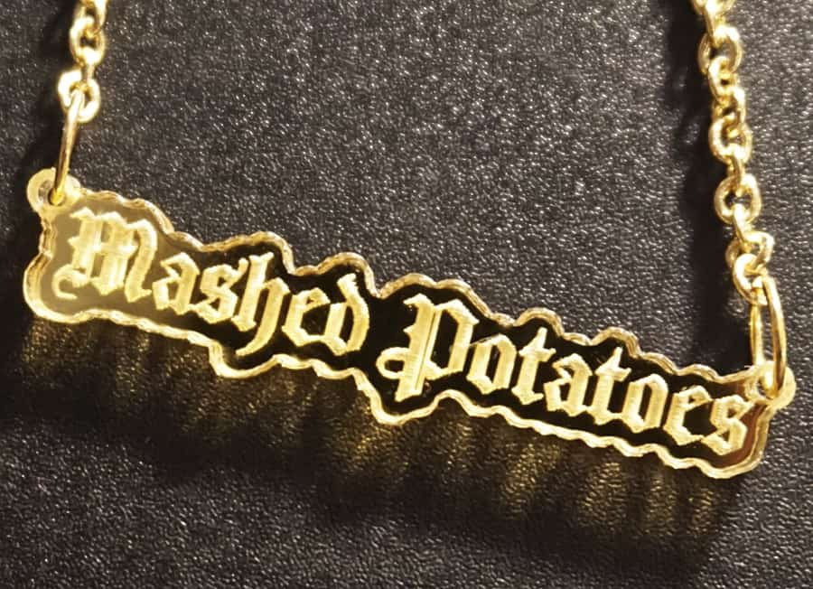 Gothic golden mashed potatoes just the way you like it.