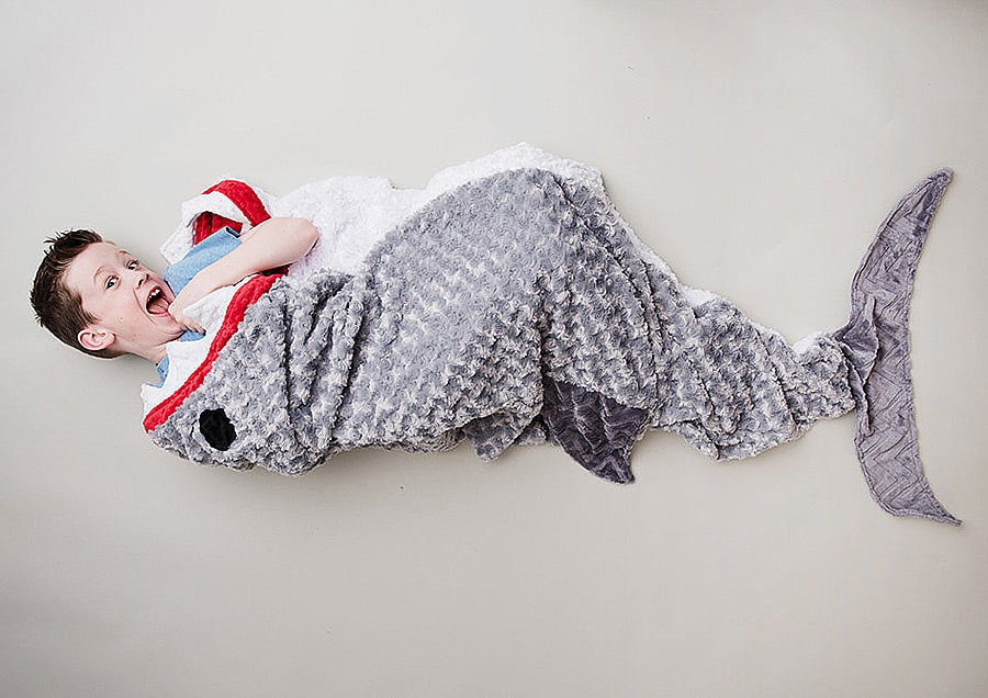 Tara's Cozy Creations Shark Blanket Awesome Bedding