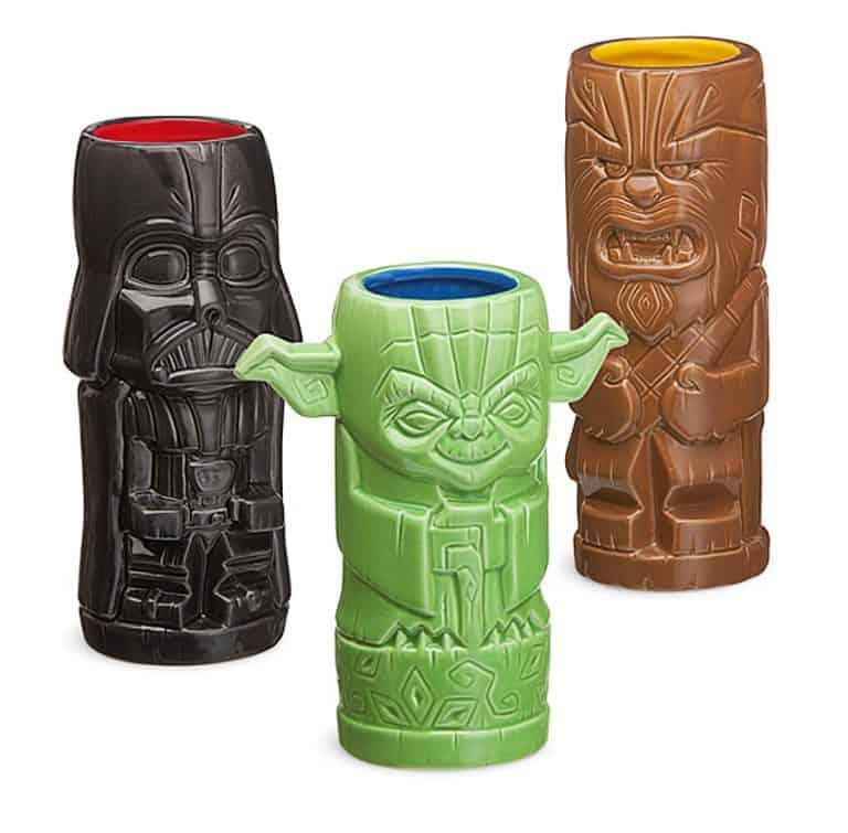 Thinkgeek Star Wars Geeki Tikis Nice Drinkware