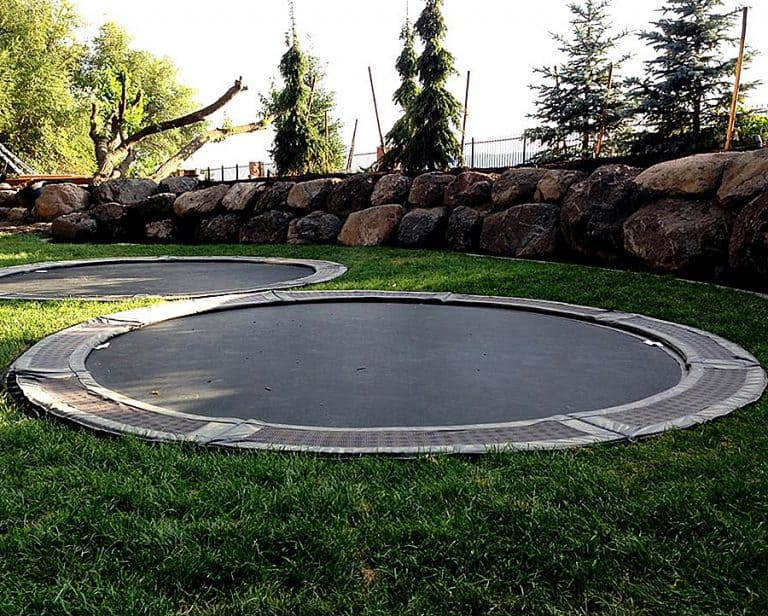 Trampolines Downunder Ground Level Trampoline Good for Backyard