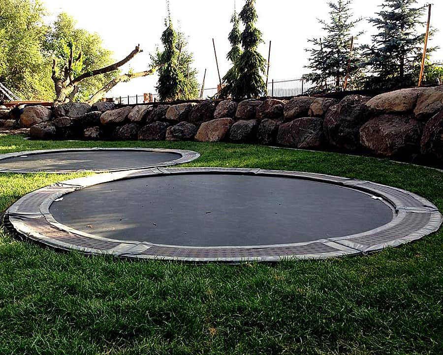 Just Keep In Mind That This Large 14 Trampoline Will Require A Bit Of Diy Knowledge To Install