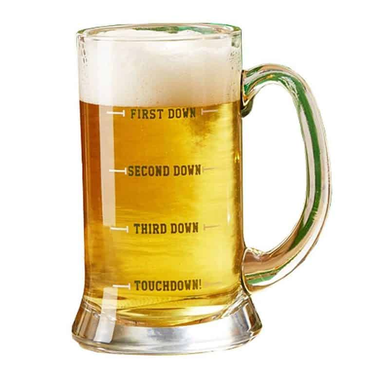 Two's Company Touchdown Beer Mug Good for Party
