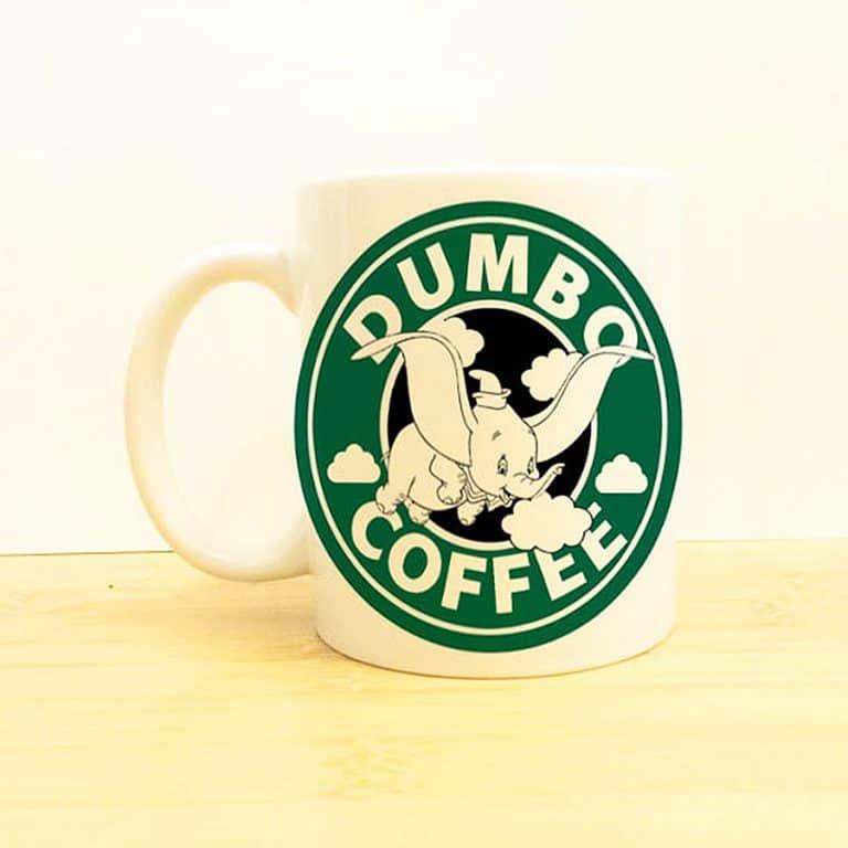 Wolf Fawn Disney Starbucks Mug Awesome Tableware