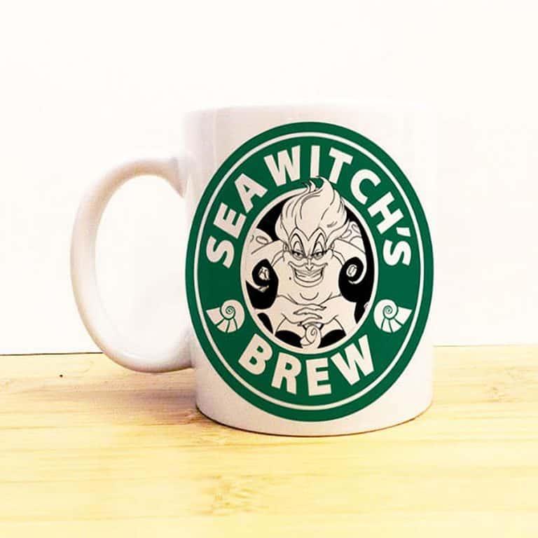 Wolf Fawn Disney Starbucks Mug Cool Glassware