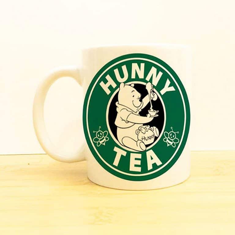Wolf Fawn Disney Starbucks Mug Good for Coffee