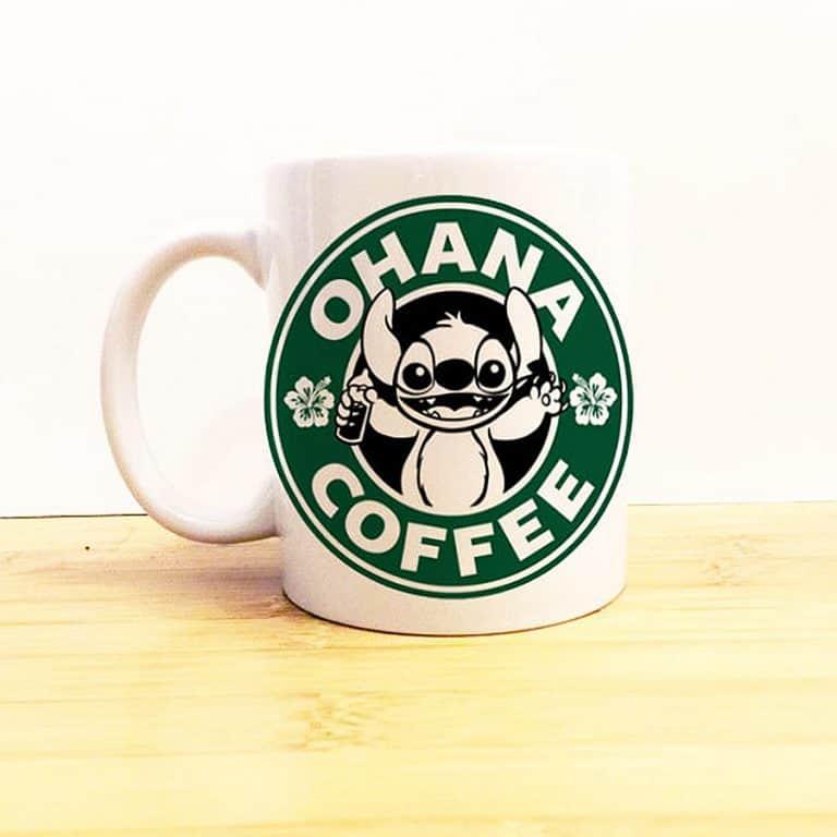 Wolf Fawn Disney Starbucks Mug Novelty Item