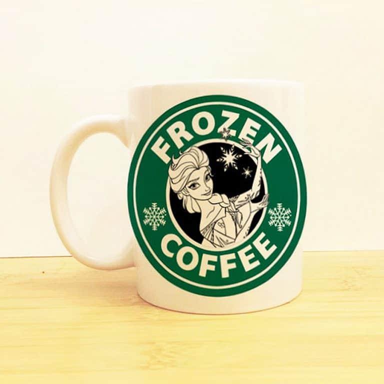 Wolf Fawn Disney Starbucks Mug for Caffeine Lover