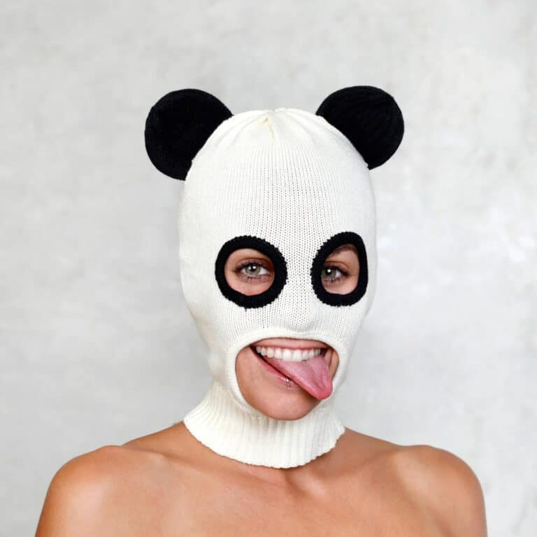 Blamo Toys Panda Ski Mask Fun Face Cover