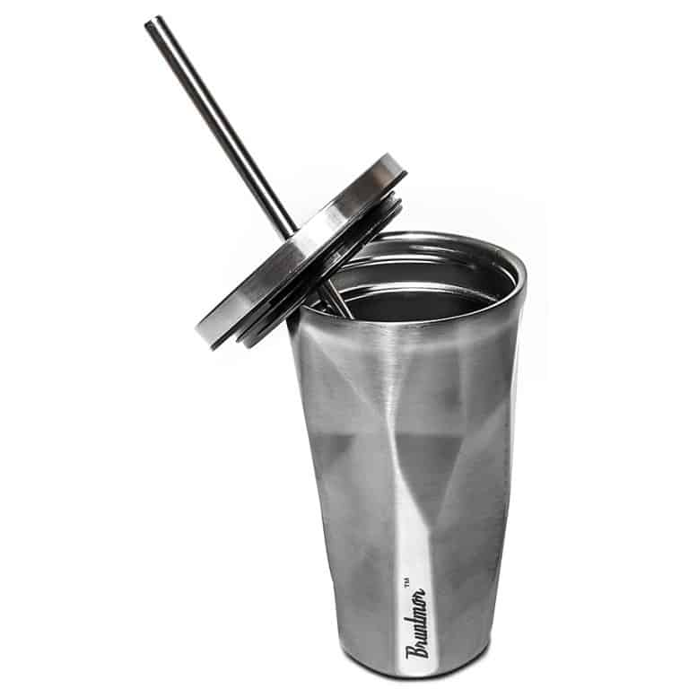 Bruntmor Double Wall Chiseled Tumblers Made from Stainless Steel