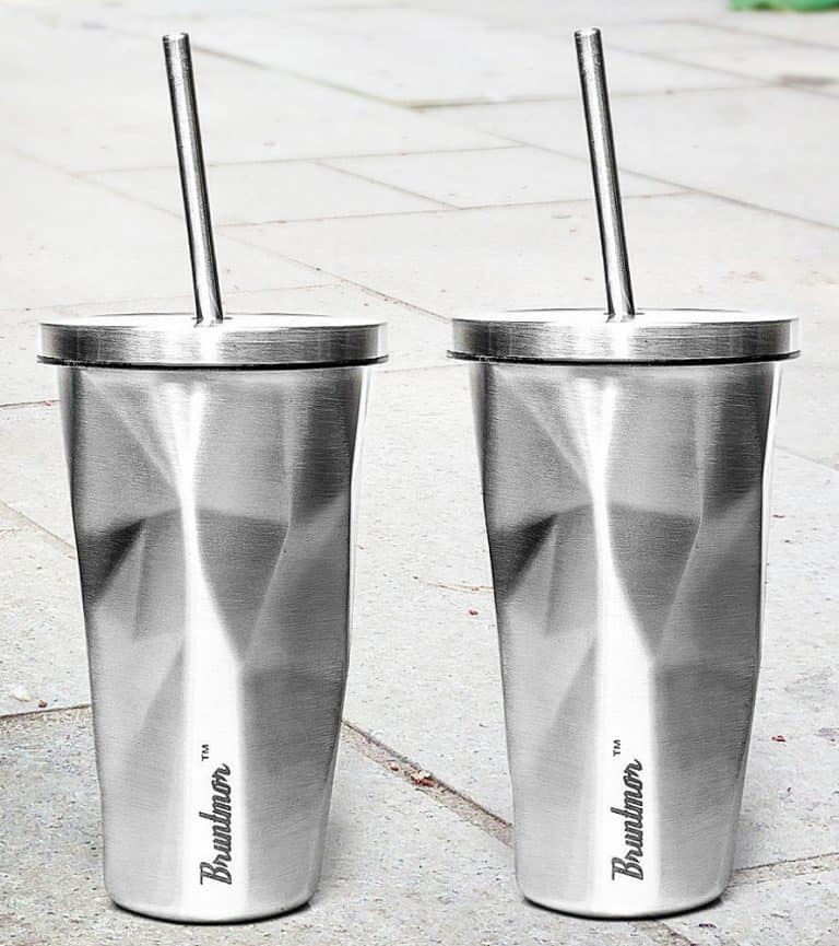 Bruntmor Double Wall Chiseled Tumblers Office Gifts Idea