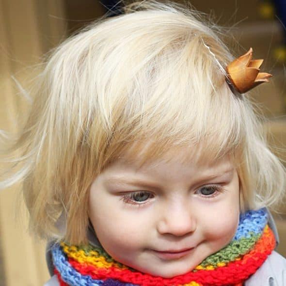 Dariami Princess Crown Hair Clip Made to Order