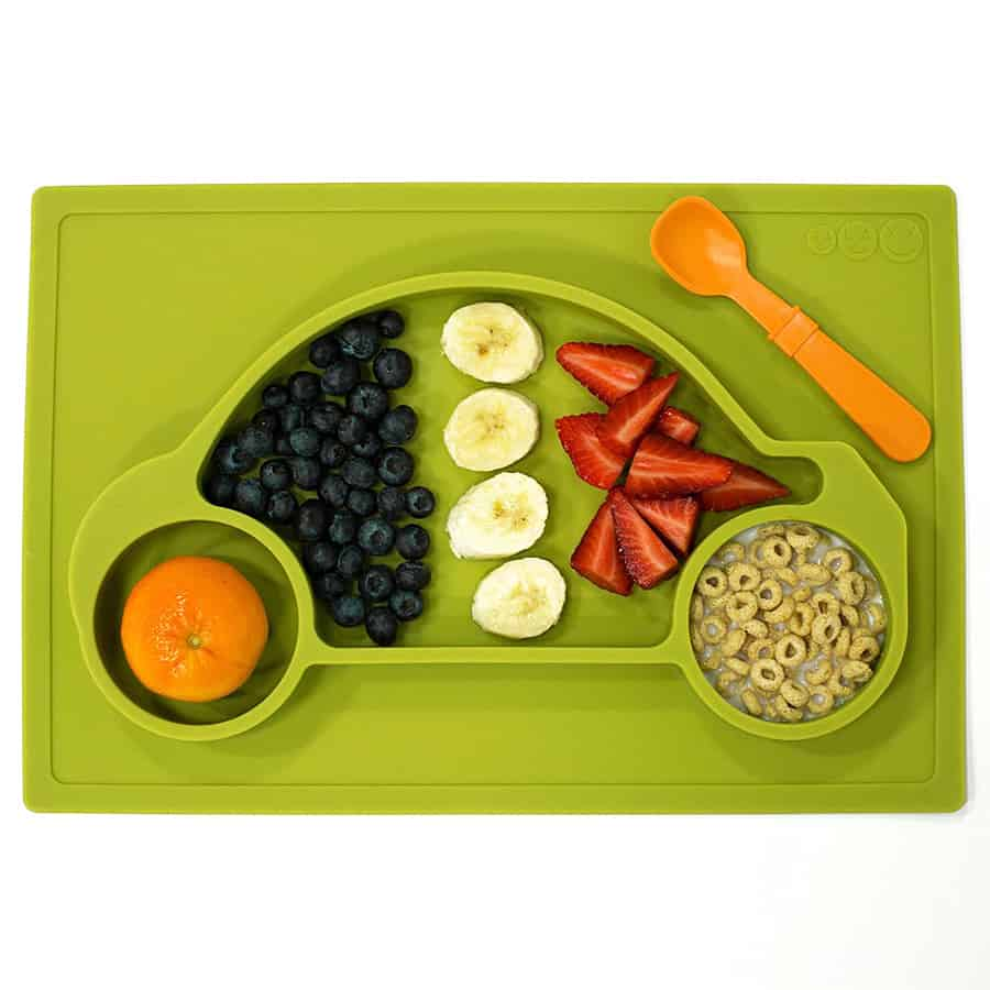 Galaxy Car Silicone Placemat & Tray Awesome for Breakfast Meal