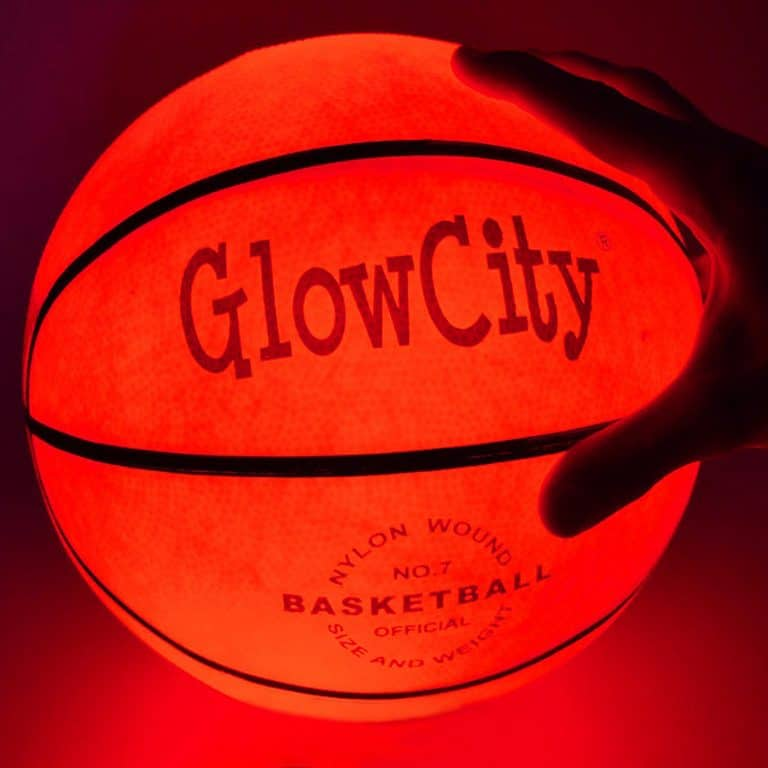 Glow City Light Up Basketball Gift Idea