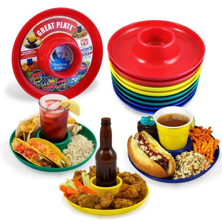 Great Plate Food Beverage Plate Good for Parties