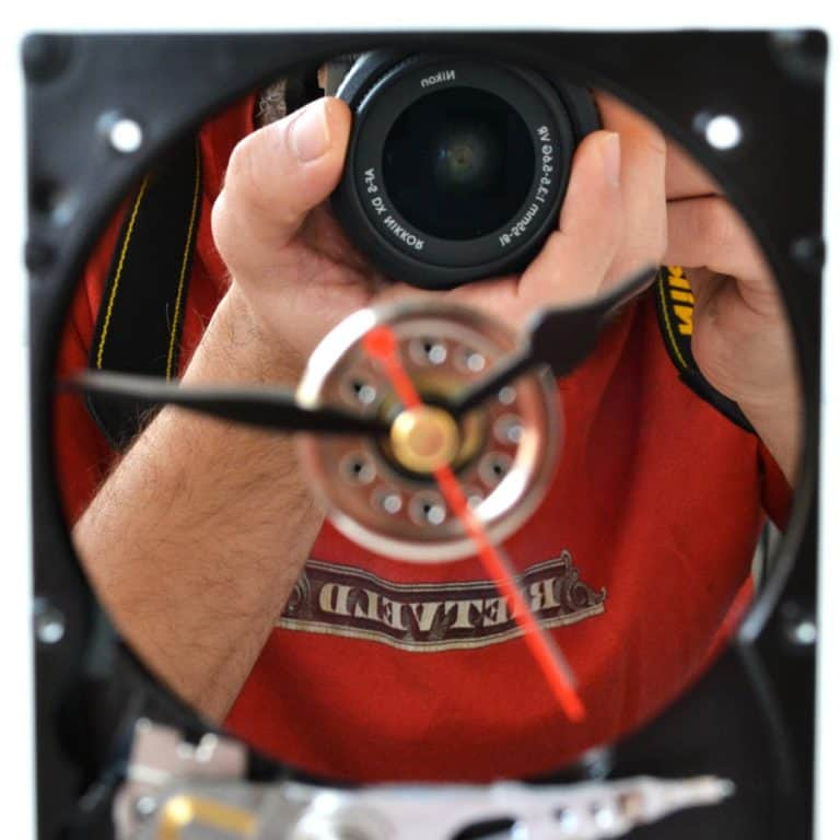 Hard Resols Hard Drive Clock Cool Bedroom Item