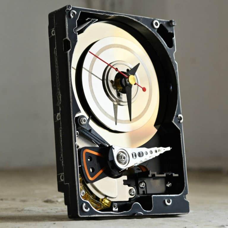 Hard Resols Hard Drive Clock Electronic Gift