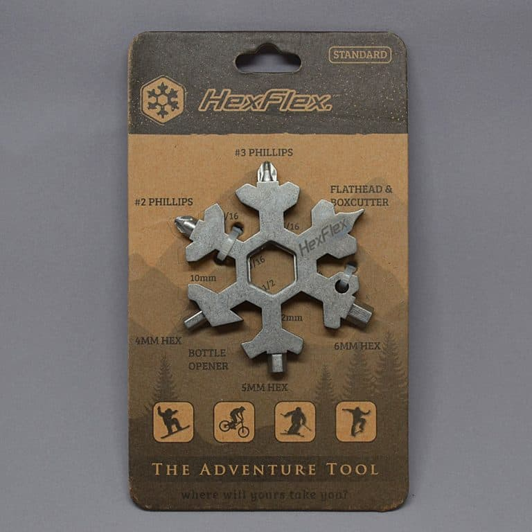 Hexflex Multi-tool Easy to Carry One Piece Tools