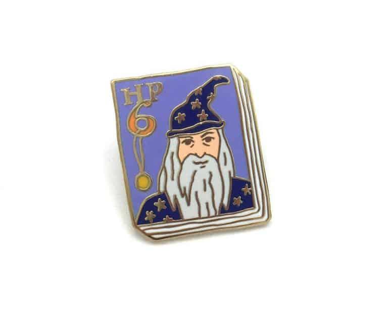 Ideal Bookshelf Harry Potter Book Badge Pin Volume 6