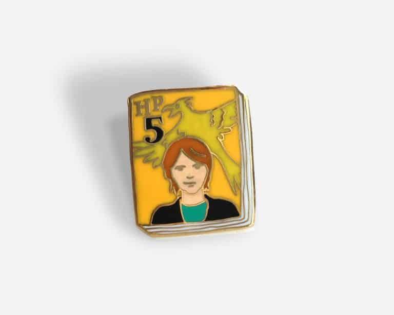 Ideal Bookshelf Harry Potter Book Badge Pin. Volume 5
