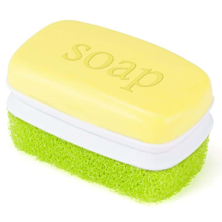 Loofah & Soap Bar 2 in 1 Cleaning Item