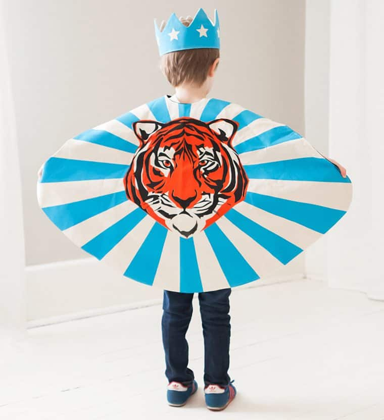 Love Lane Tiger Cape Cool Novelty Item