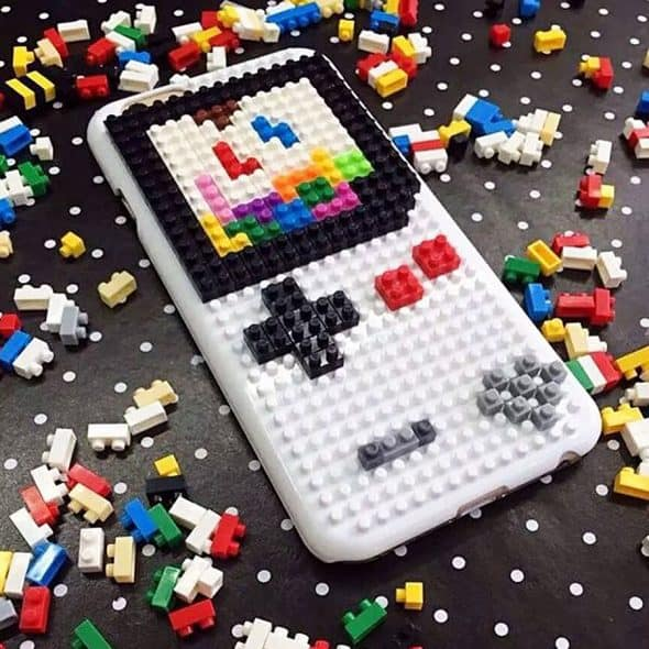 Loz Diamond Blocks DIY Case For iPhone Gift Idea for Techie