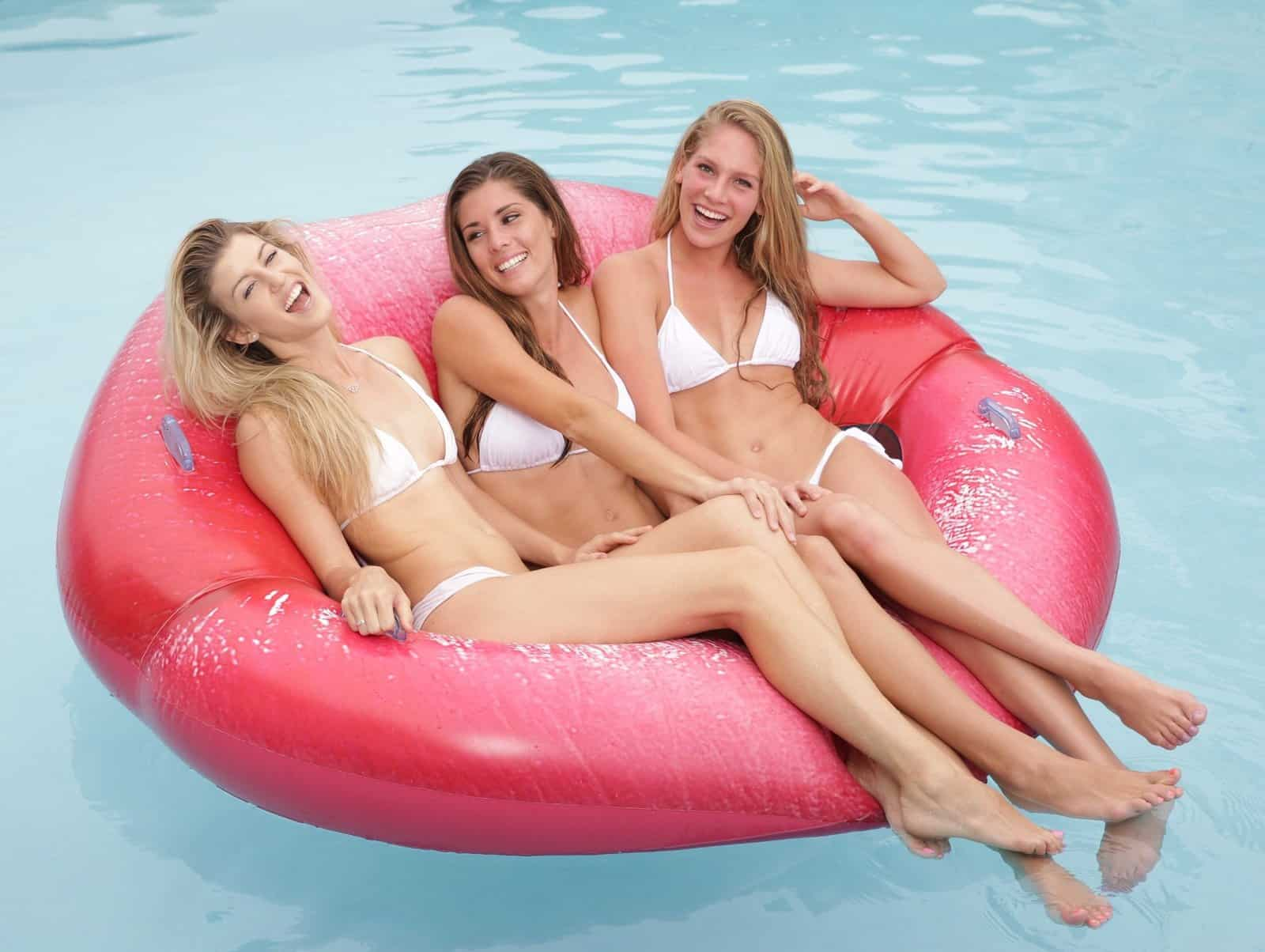 Luscious Lips Inflatable Swimming Pool Lounger Cool Summer Product