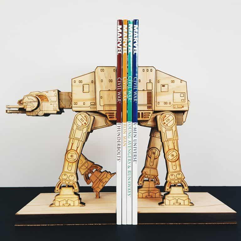Moku Shop Star Wars AT-AT Book Ends Gift Idea