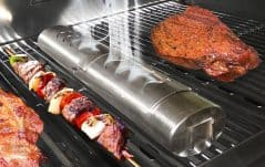 Add more smoke to your grill minus the flames.