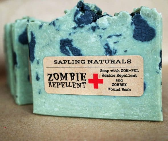 Protect yourself from germs and the undead.