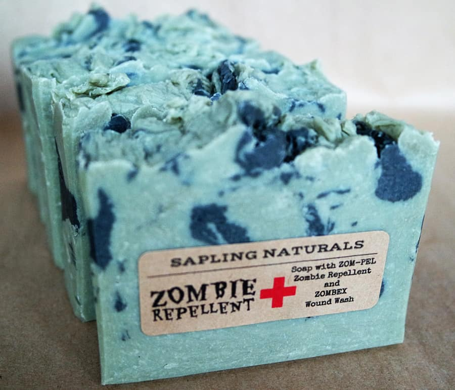 Sapling Naturals Zombie Repellent Soap Nice Smelling Toiletry