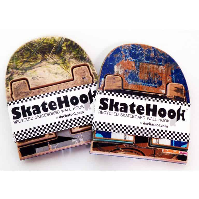 Skate Or Design Recycled Skateboard Coat Hook Cool Novelty Item