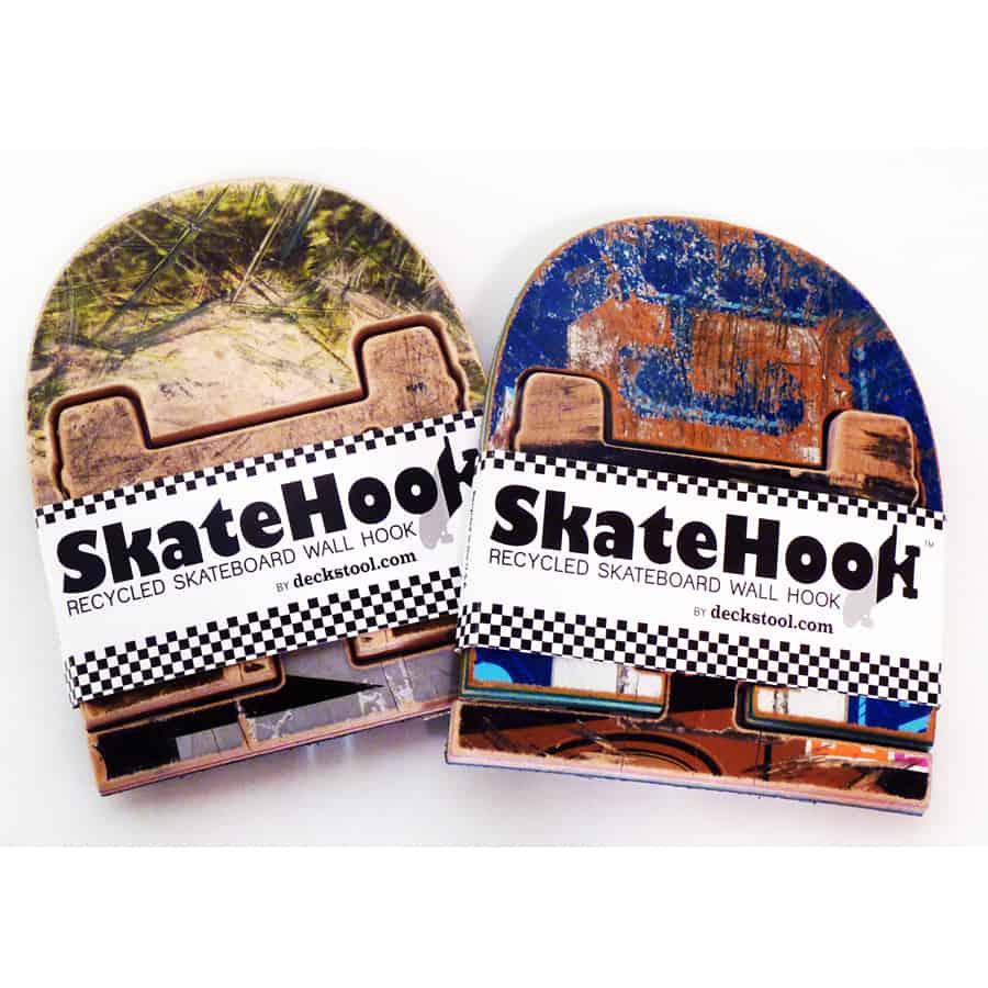 Skate Or Design Recycled Skateboard Coat Hook Cool Novelty Item