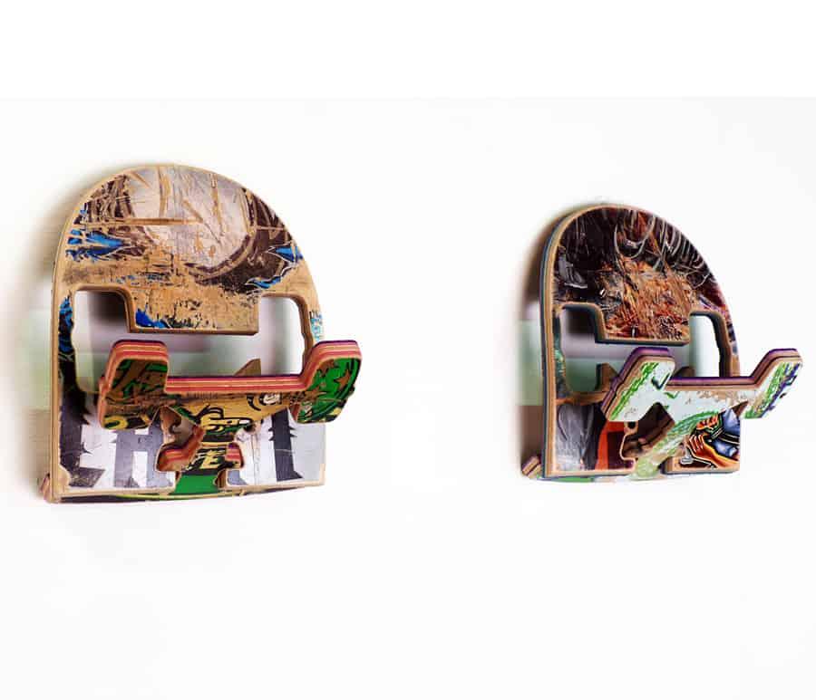Skate Or Design Recycled Skateboard Coat Hook Nice Home Decor