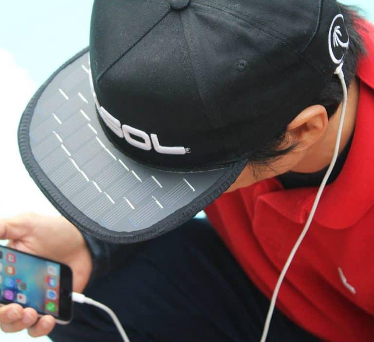 Solsol Solar Hat Buy Gadget Online