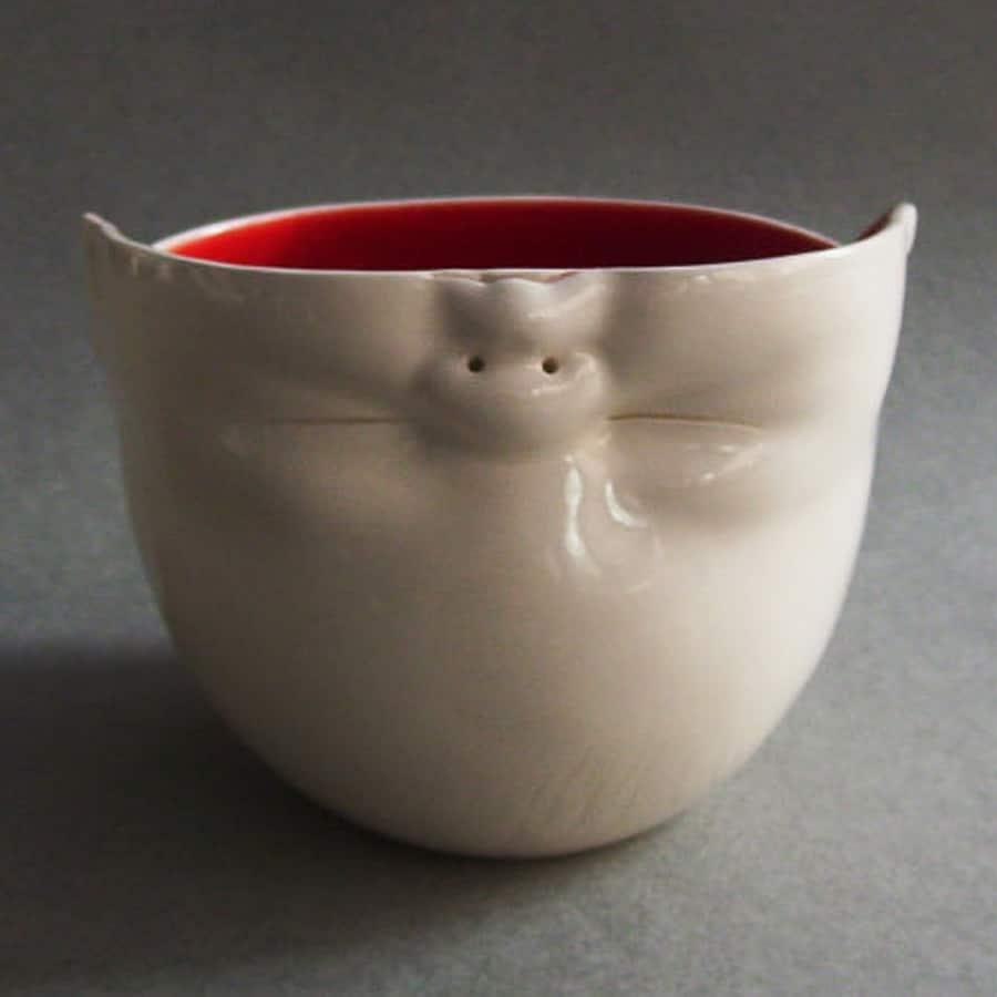 Susan Kniffin Davidson Upsidedown Baby Head Bowl Novelty Item