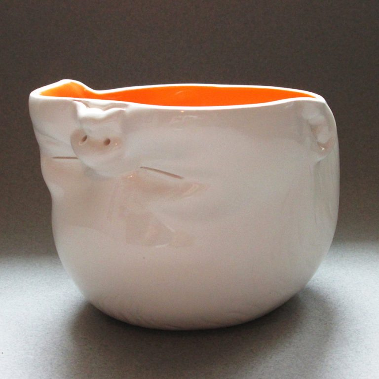 Susan Kniffin Davidson Upsidedown Baby Head Bowl Tableware