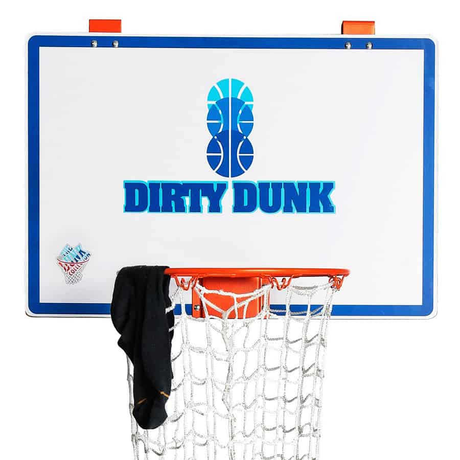 The Dunk Collection Dirty Dunk Over-the-Door Basketball Hoop ...