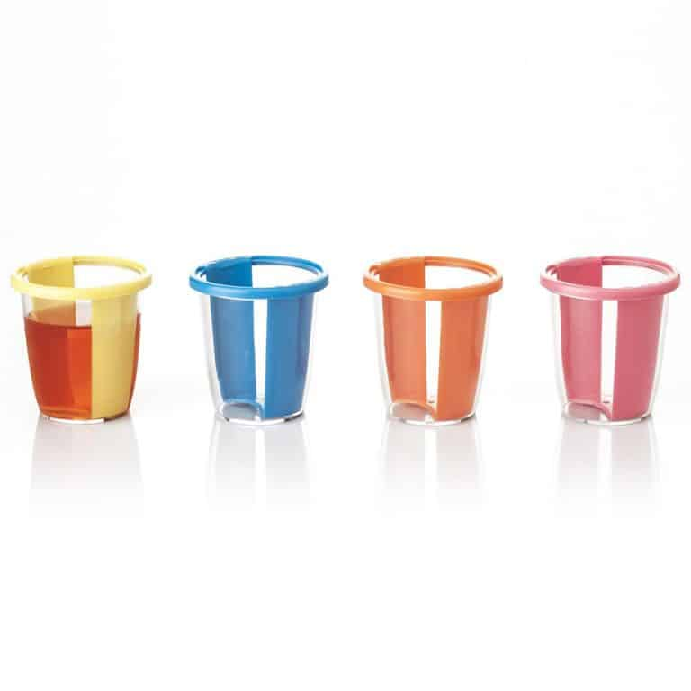 Twisting Jello Shot Plastic Cup Nice Novelty Material