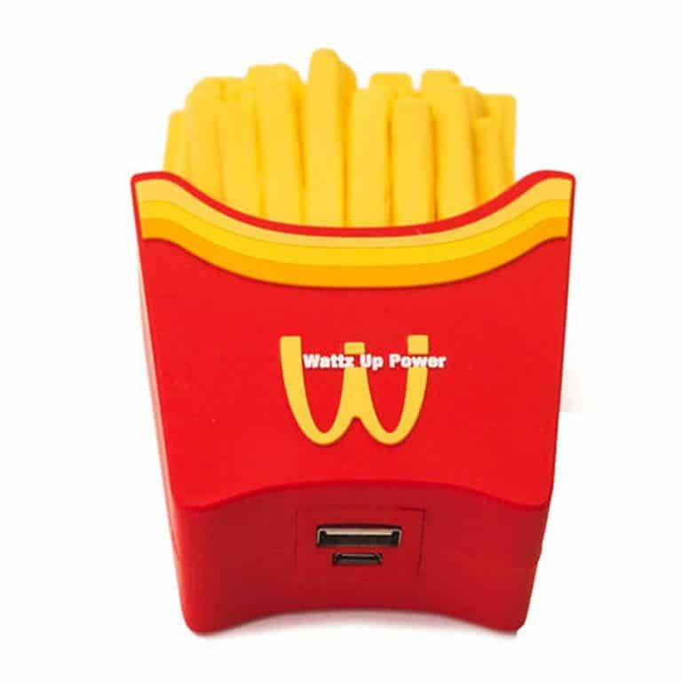 Wattzup Fry Or Die Portable Power Bank Awesome for Traveling