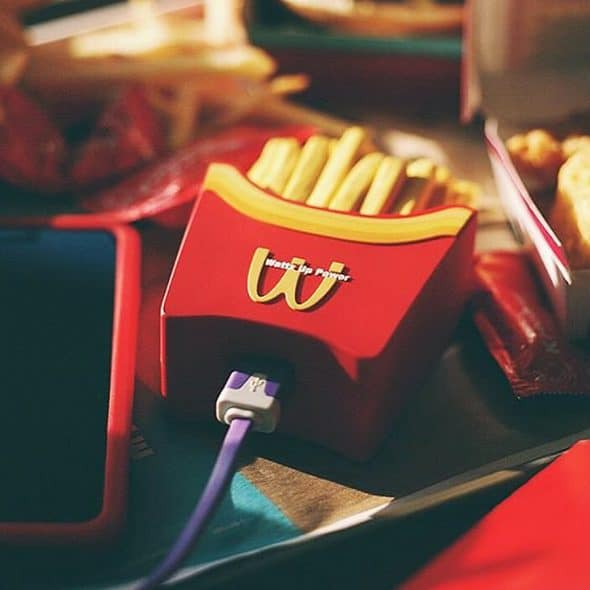 Would you like some power with those fries?