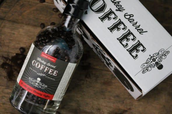 Whiskey Barrel Coffee Dark Roast Bottle Cool Gift for Men